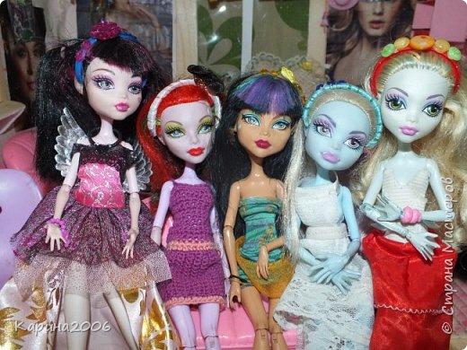 Ободки для кукол Монстр хай. фото 7