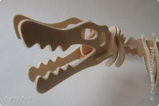 Здравствуйте дорогие друзья представляю вам вот такого динозавра . фото 2