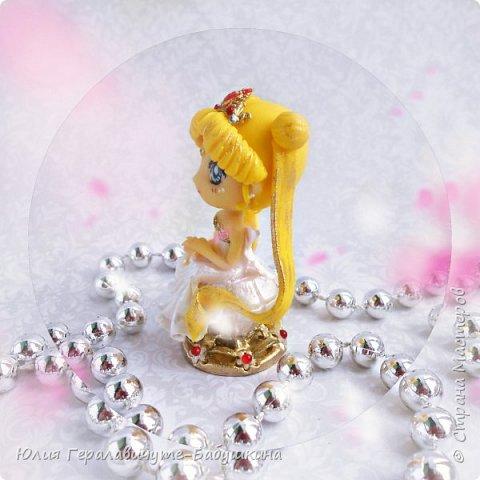 Не могу не поделиться))))))))))  Слепила фигурку своей любимой героини аниме. Сижу пищу от счастья))))))))))))))))))))   P.S. С праздником дорогие МУЖЧИНЫ! фото 5