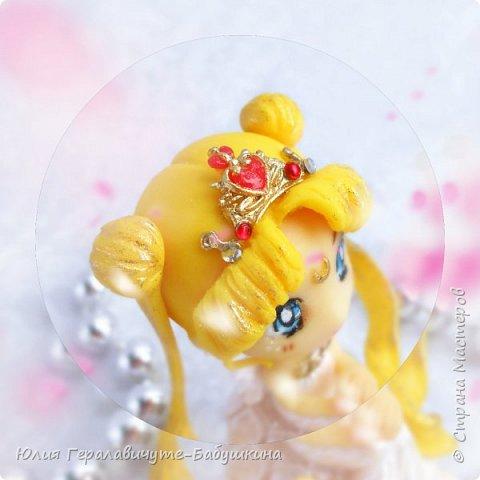 Не могу не поделиться))))))))))  Слепила фигурку своей любимой героини аниме. Сижу пищу от счастья))))))))))))))))))))   P.S. С праздником дорогие МУЖЧИНЫ! фото 6
