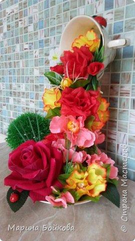 Цветочный водопад фото 1