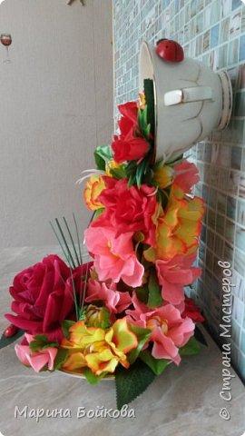 Цветочный водопад фото 3