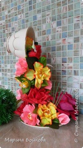 Цветочный водопад фото 4