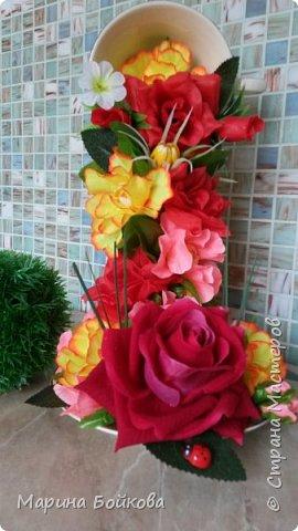 Цветочный водопад фото 2