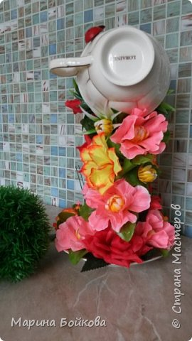 Цветочный водопад фото 5