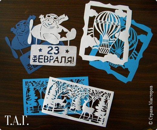 """Начав подготовку подарков к Дню защитника Отечестав, столкнулись с отсутствием новых схем для """"мальчиковых"""" открыток.  фото 2"""
