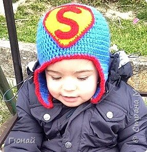 Шапка супермена для мальчика