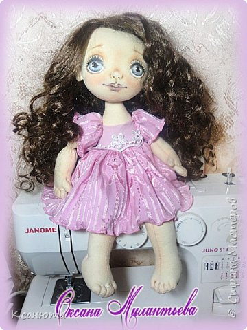 Вот такая девочка розовая-Розочка получилась.Котенок-валяние. фото 7