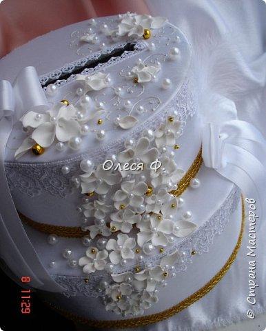 """Свадебный комплект в стиле """"Gatsby"""" . В бело-золотом исполнении, с перьями.  фото 13"""