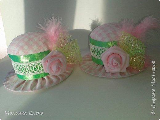 Шляпки-игольницы фото 3