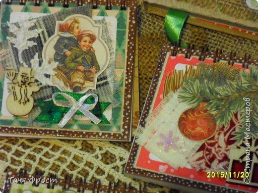 Новогодние блокноты фото 6