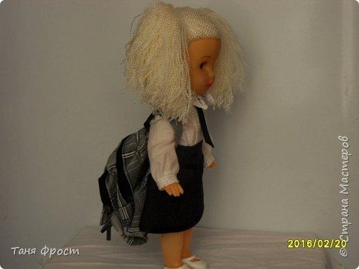 Всем привет, с вами снова я и мы опять на службе по спасению кукол! Знакомьтесь - это Октавия, она собралась в школу))) фото 11