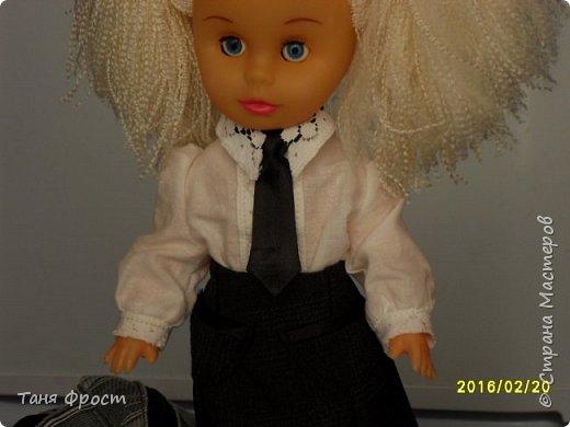 Всем привет, с вами снова я и мы опять на службе по спасению кукол! Знакомьтесь - это Октавия, она собралась в школу))) фото 15