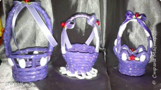 Мини-корзинки в прошлом году на Пасху фото 11