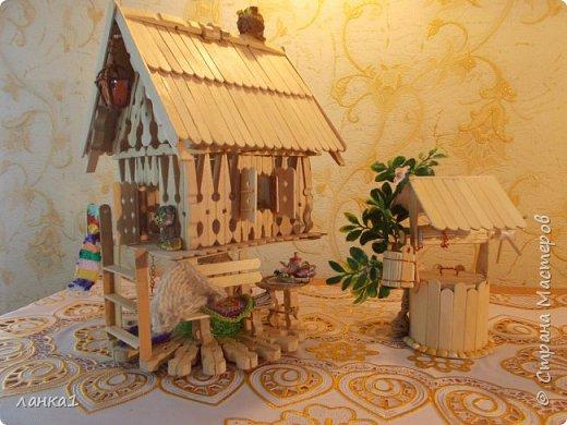Хочу показать свой теремок. Подсмотрела  МК http://stranamasterov.ru/user/236983. Огромное спасибо за идею. Но я не люблю копировать всегда беру только основу и делаю по своему. фото 1