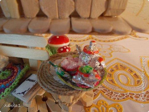 Хочу показать свой теремок. Подсмотрела  МК http://stranamasterov.ru/user/236983. Огромное спасибо за идею. Но я не люблю копировать всегда беру только основу и делаю по своему. фото 6