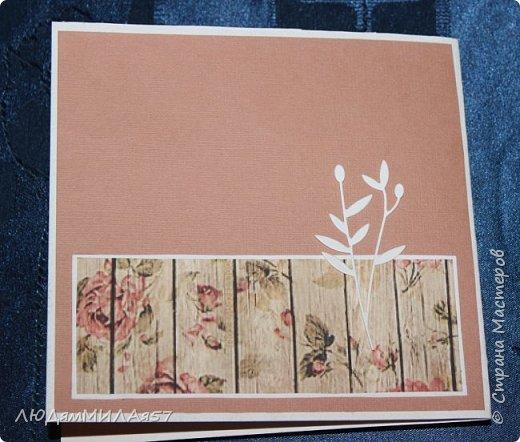 Здравствуйте всем!!! Решила сделать несколько открыток к 8 Марта,а поскольку легких путей мы не ищем усложнила себе задачу ,решив сделать открытки с одним и тем же цветком,но разного цвета,сделаны цветы по МК Светланы Б.,а за одно решила и расстаться с вырубкой,что мне прислали девочки по обмену АТСочками.Вот что у меня получилось! фото 16