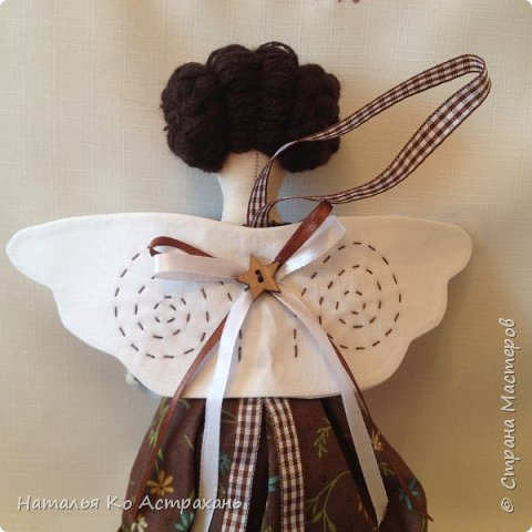 Доброго времени суток, дорогие мастера и мастерицы! Решила показать своих кукол, которых шью с удовольствием. Сегодня это - феечки. фото 8