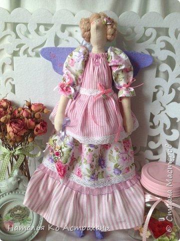 Доброго времени суток, дорогие мастера и мастерицы! Решила показать своих кукол, которых шью с удовольствием. Сегодня это - феечки. фото 2