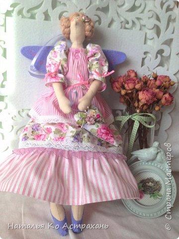 Доброго времени суток, дорогие мастера и мастерицы! Решила показать своих кукол, которых шью с удовольствием. Сегодня это - феечки. фото 1