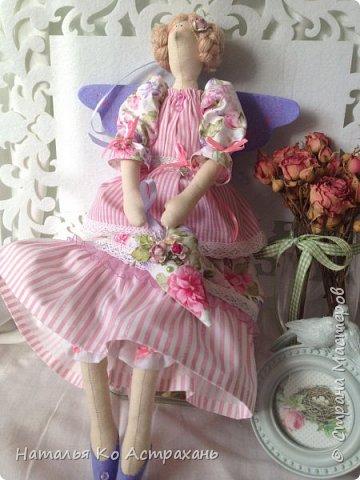 Доброго времени суток, дорогие мастера и мастерицы! Решила показать своих кукол, которых шью с удовольствием. Сегодня это - феечки. фото 3