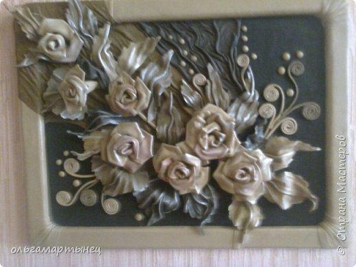 розы из кожи фото 2