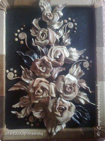 розы из кожи фото 1