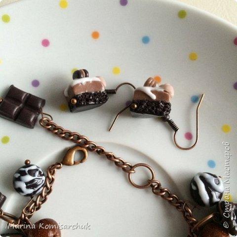 Шоколадные наборы из полимерной глины фото 8