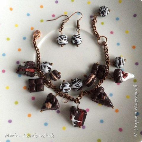 Шоколадные наборы из полимерной глины фото 9
