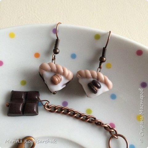 Шоколадные наборы из полимерной глины фото 7