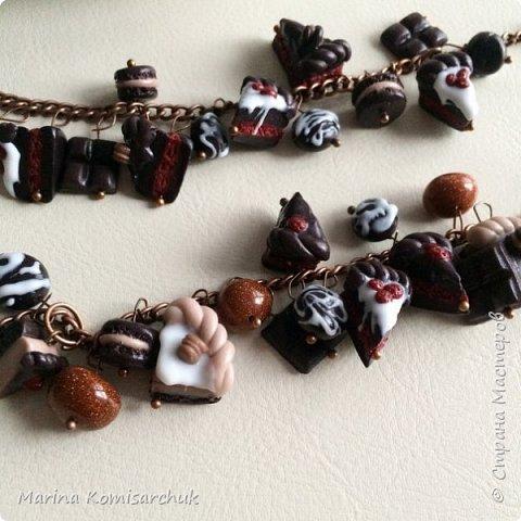 Шоколадные наборы из полимерной глины фото 4
