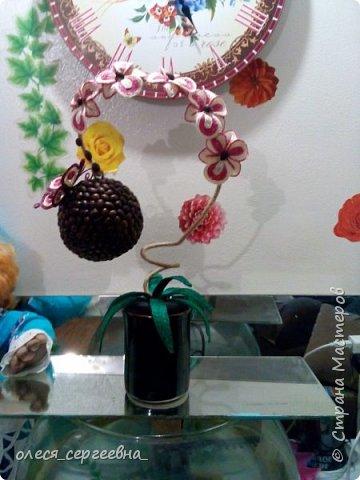 Орхидея из шпагата фото 1