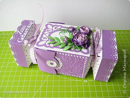 Здравствуйте! Доброго всем утра или дня! Сегодня я пришла показать вам упаковочку - конфету. Ранее уже была у меня такая упаковка, но в другом оформлении. Сделала для девочки, на день рождения. фото 1