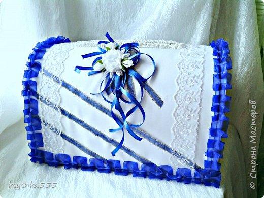 Бело-синий - чарующий и магический цвет! Свадьба, оформленная в бело-синих тонах, получается поистине волшебной! фото 1