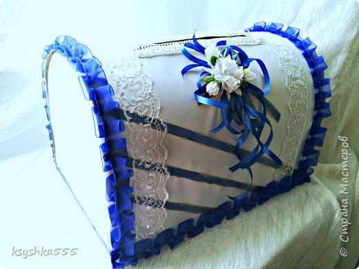 Бело-синий - чарующий и магический цвет! Свадьба, оформленная в бело-синих тонах, получается поистине волшебной! фото 3