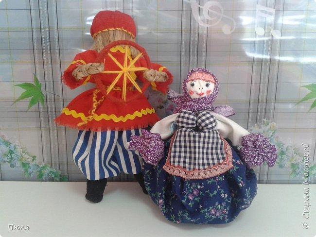 Здравствуйте, уважаемые жители Страны мастеров! Сегодня  я с куклами - оберегами, сшились тут у меня они на днях и уже подарены. фото 1