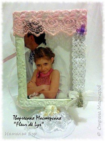 Делаю маааленькие шажки в скрапе)))) мой любимый винтаж теперь в фоторамке))) фото 5