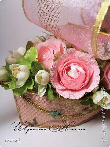 """Заказали что-нибудь на свадьбу. 10 лет, а это """"Розовая"""".   Предложила несколько вариантов - выбрали кораблик. фото 4"""
