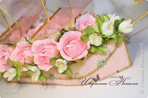 """Заказали что-нибудь на свадьбу. 10 лет, а это """"Розовая"""".   Предложила несколько вариантов - выбрали кораблик. фото 8"""