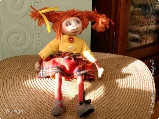Куколка на проволочном каркасе фото 2