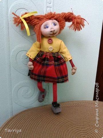 Куколка на проволочном каркасе фото 1