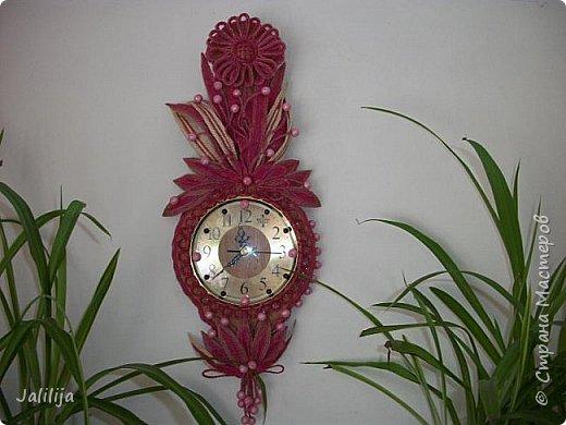 Уважаемые жители и гости Страны мастеров! Эти часы декорированы джутовой верёвкой, которую я предварительно покрасила. Хочу поделиться с вами, как это делается. фото 41