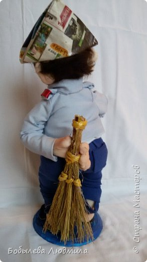 """интерьерная кукла """"Домашний Наполеон"""". фото 2"""