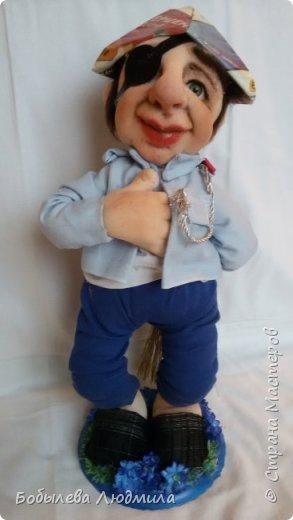 """интерьерная кукла """"Домашний Наполеон"""". фото 1"""