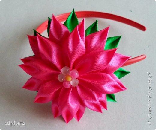 Осваивала цветочки по МК Нели Идрисовой http://stranamasterov.ru/node/1004912?c=new_1724%2C451 Огромная благодарность Мастерице! фото 5