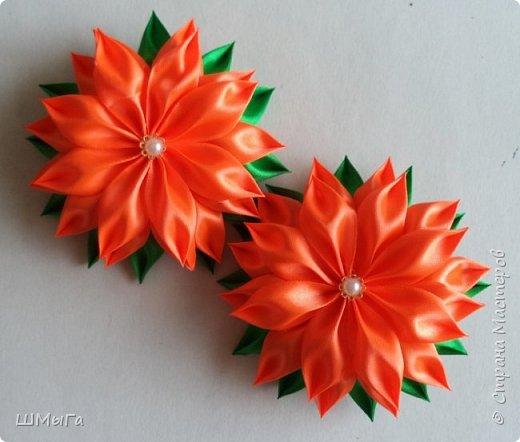Осваивала цветочки по МК Нели Идрисовой http://stranamasterov.ru/node/1004912?c=new_1724%2C451 Огромная благодарность Мастерице! фото 6