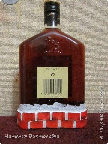 Сделала подруге на юбилей бутылочку, имениннице вроде понравилась!  фото 4