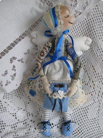 """Добрый день, Страна Мастеров и Мастериц!!! Представляю вам мои новиночки. Эти куклы в заказе и отправятся к новым хозяевам после выходных. Первая из заказанных кукол """" Принцесса Анна"""" ростом в 53 см, сшита из хлопка, набивка - синтепух, волосы из полушерстяной пряжи уложены в статичную причёску.  фото 5"""