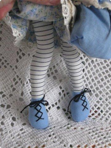 """Добрый день, Страна Мастеров и Мастериц!!! Представляю вам мои новиночки. Эти куклы в заказе и отправятся к новым хозяевам после выходных. Первая из заказанных кукол """" Принцесса Анна"""" ростом в 53 см, сшита из хлопка, набивка - синтепух, волосы из полушерстяной пряжи уложены в статичную причёску.  фото 7"""