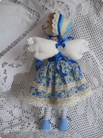 """Добрый день, Страна Мастеров и Мастериц!!! Представляю вам мои новиночки. Эти куклы в заказе и отправятся к новым хозяевам после выходных. Первая из заказанных кукол """" Принцесса Анна"""" ростом в 53 см, сшита из хлопка, набивка - синтепух, волосы из полушерстяной пряжи уложены в статичную причёску.  фото 8"""